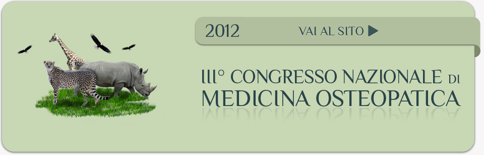 congresso osteopatia veterinaria